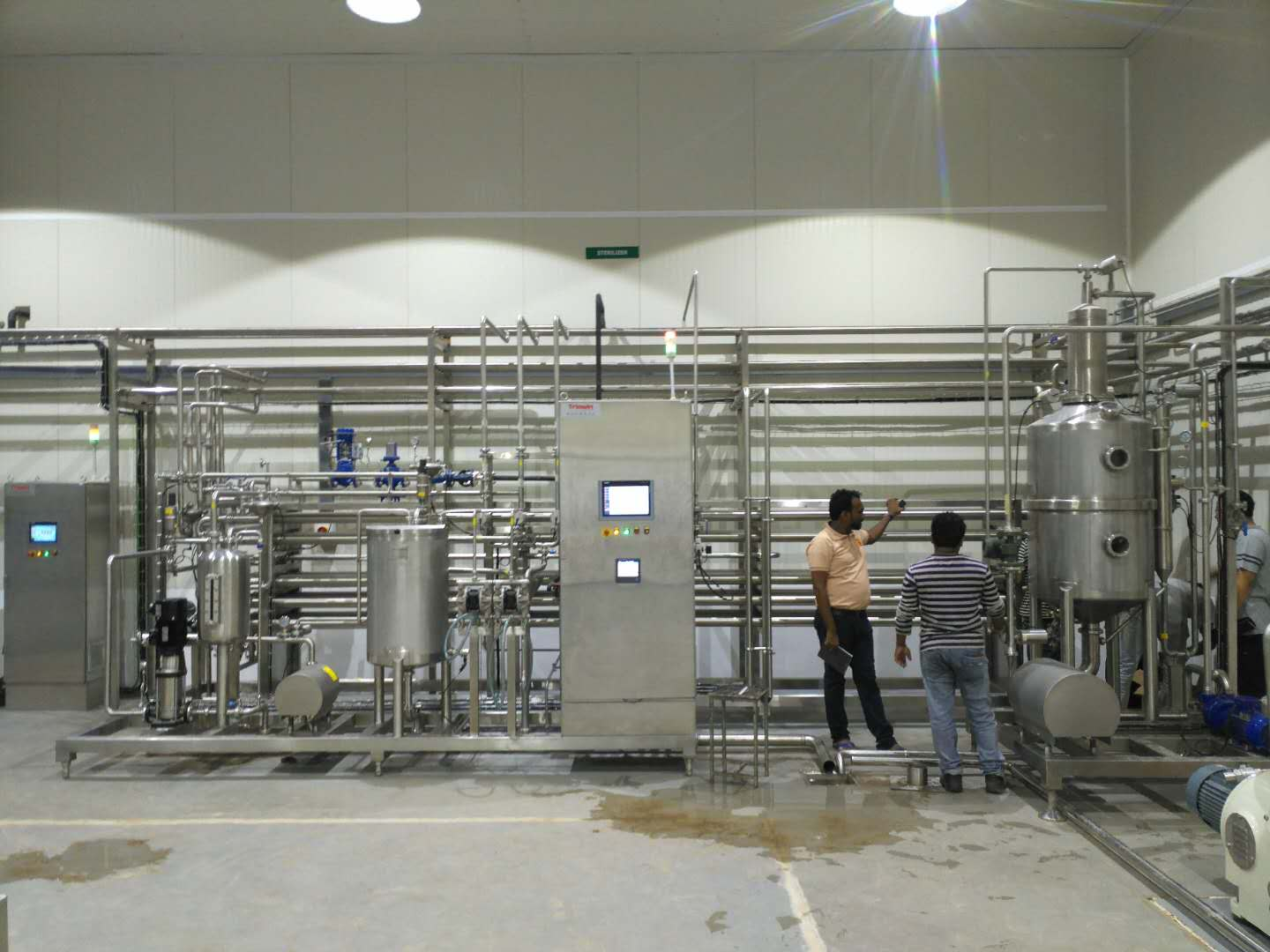 Tubular&Plate& Tube in Tube sterilizer