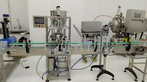Filling&capping machine